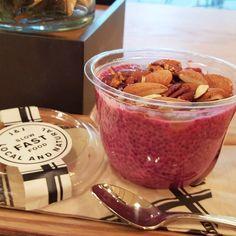 This is my plan for tonight... #ChiaPudding ^justi  #chia#chiapudding #food#foodporn#instafood#health #healthy #nuts#pink#zurich#zürich#switzerland #dessert#essen#eat#slowfastfood#jackandjo