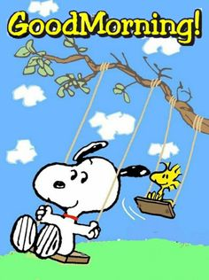 Snoopy Love, Charlie Brown And Snoopy, Snoopy And Woodstock, Good Morning Picture, Good Morning Good Night, Morning Pictures, Good Morning Messages, Good Morning Quotes, Snoopy Quotes