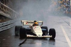 Ayrton Senna Toleman, Monaco 1984