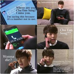 "Lee Min Ho and Kim Woo Bin ♡ #Kdrama - ""HEIRS"" / ""THE INHERITORS"" . HAHAHAHAA"