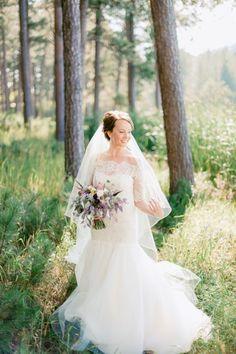 Classic bride: http://www.stylemepretty.com/south-dakota-weddings/2015/02/24/rustic-south-dakota-state-park-wedding/ | Photography: Jeff Sampson - http://jeffreysampson.com/