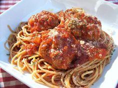 Spaghetti and meatballs!