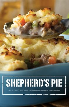 Your family will love the mashed potato topping and savory beef and vegetable medley found in this Shepherd's Pie recipe. It's easy and delicious.