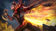 Karrie Wallpaper HDis free HD Wallpaper Thanks for you visiting New Skin Dragon Queen Mobile Legends 2018 HD Wallpaper in M. Wallpaper Space, Hero Wallpaper, Gaming Wallpapers, Free Hd Wallpapers, Bang Bang, Alucard Mobile Legends, Moba Legends, Legend Images, The Legend Of Heroes