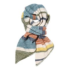 MOSSIMO SUPPLY CO. FOR TARGET STRIPED OBLONG SCARF, $20; target.com #InStyle