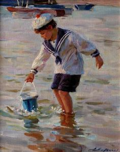 """""""At the Seaside"""" by Alexander Averin"""