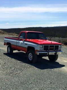 Just don't make them like the old days: Photo Chevy Pickup Trucks, Gm Trucks, Chevy Pickups, Chevrolet Trucks, Lifted Trucks, Cool Trucks, Small Trucks, Classic Pickup Trucks, Custom Trucks