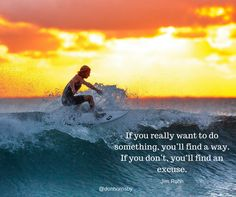 If you really want to do something, you'll find a way. If you don't, you'll find an excuse. - Jim Rohn  Make no excuses today.  Go for it.  #leadership #coaching