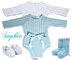 Sophie moda infantil prendas de punto fall/Winter 2013-2014