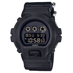 CASIO G-Shock DW-6900BBN-1 Orologio da Uomo Digitale Limited Special NATO Strap #casio #gshock #digital #retro #style #vintage #men #wristwatch
