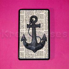 Kindle Fire Case  Nautical Anchor with book art by KrezyCase, $19.99  Kindle Fire Original