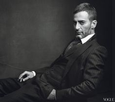 fashion designer Marc Jacobs. Vogue US January 2012 / Shot by Annie Leibovitz