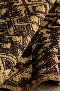 Central African Kuba cloth   Kuba Velvet Detail   Photo by Edward Addeo for Hand/Eye