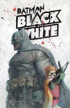 Batman Black and White by Bill Sienkiewicz *