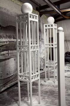 #WroughtIron #Iron #DrivewayGates #Metal #EstateGates #Drive #Garden #Bespoke #Custom #Designer #Modern #Vintage #Contemporary #Entrance #Sliding #Architecture #Privacy #Entry #Victorian #Outdoor #Traditional #Gates #Paint #ElephantBreath #Grey #Matte