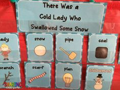 kindergarten snowman learning activities