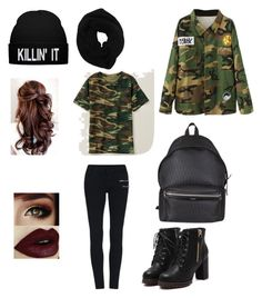 """#swag"" by anastasiadobre97 on Polyvore featuring Yves Saint Laurent and Wyatt"