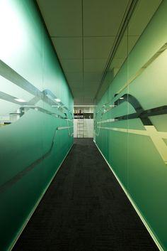 Gabia offices, Seongnam City, Korea designed by TAOTMS Architecture & Design and L design.