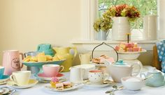 Afternoon tea- Afternoon tea is a small meal snack typically eaten between 2pm and 5pm.