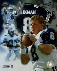 One of the greatest Cowboys player to ever defend the star the reason why I like the quarterback position. Troy Aikman my idol grew up watching this guy back in the late the throws he would make. Best QB ever hands down! Hope one day to meet him. Dallas Cowboys Players, Nfl Football Teams, Dallas Cowboys Football, Cowboys 4, Sports Teams, Football Stuff, Football Baby, Football Memes, Cowboys