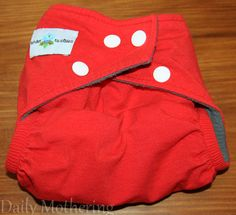 Tender Tushies Bamboo One-Size Pocket Cloth Diaper Review