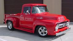 Vintage Trucks Muscle 1956 Ford Pickup Maintenance of old vehicles: the material for new cogs/casters/gears/pads could be cast polyamide which I (Cast polyamide) can produce 1956 Ford Truck, 1956 Ford F100, Old Ford Trucks, Old Pickup Trucks, Hot Rod Trucks, Cool Trucks, Lifted Trucks, Lifted Ford, Diesel Trucks