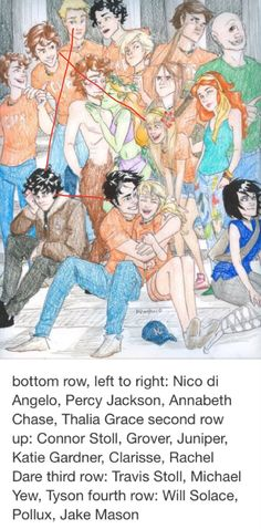 Oh my gods... Early one sided Percico, Tratie, and Solangelo. Look where…