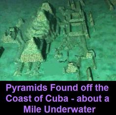FL St Archaeologist said to be 50,000 yrs old.  no cultures we know of vould have built. There sre out of time and place Real advaced for that time frame.   Google  Cuba Underwater City Pyramids