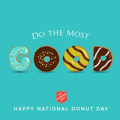 The Salvation Army - National Donut Day   Check out the Salvation Army in Orangeburg Mrs. Rebecca is awesome.