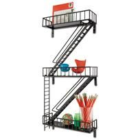 This is such a cool decoration on Chiasso that's designed like a fire staircase in a city building they call an urban shelf for $98. Sooo cool! LOVE it!