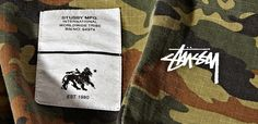 #camo @stussy #love the fresh look