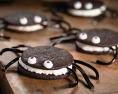Simple... Could even make these from oreos if not enough time on hand to bake! Beaut..
