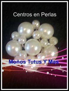 Centros en Perlas para decorar moños, sandalias, flores - PEARL CENTERS ...