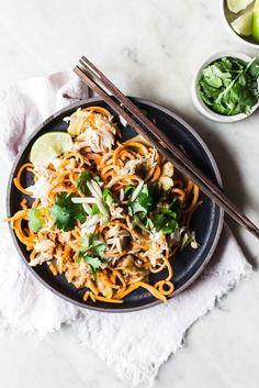 No Noodle Pad Thai #vegetable #dinner #familydinner