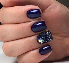 Hot Nail Designs, Baby Blue Nails, Hot Nails, Gel Nail Art, Nail Polish Colors, Pretty Nails, My Style, Business Casual, Nail Ideas
