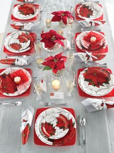 Showcase the exceptional beauty of poinsettia flowers with our Poinsettia Lace Christmas Party Supplies. The collection offers a set of disposable party supplies are sold in bulk quantities at competitive wholesale pricing, a fabulous choice for event planners and party hosts who need wholesale Christmas party supplies. Make this Christmas an unforgettable one!