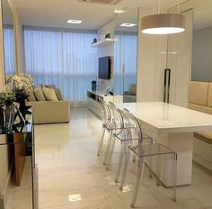Clean e belo. Amei Projeto Moderne Arquitetura Me encontre também no @pontodecor {HI} Snap:  hi.homeidea  www.homeidea.com.br #bloghomeidea #olioliteam #arquitetura #ambiente #archdecor #archdesign #hi #cozinha #homestyle #home #homedecor #pontodecor #homedesign #photooftheday #love #interiordesign #interiores  #picoftheday #decoration #world  #lovedecor #architecture #archlovers #inspiration #project #regram #canalolioli #apartamentopequeno #apartamentocompacto