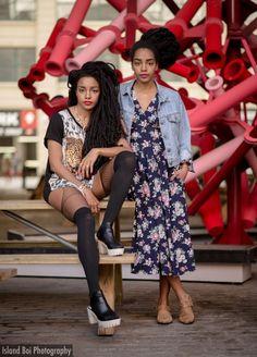 | Twins Cipriana Quann & T.K Wonder