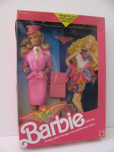 Flight Time Barbie 1989