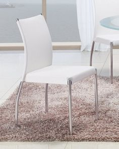 2 Global Furniture Dining Room Chairs Gl Db841dc Wh