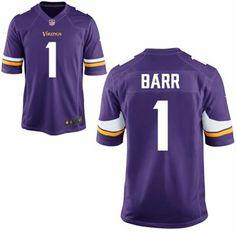 Mens Nike Anthony Barr Purple Minnesota Vikings 2014 NFL Draft #1 Pick Game Jersey #NFLdraft