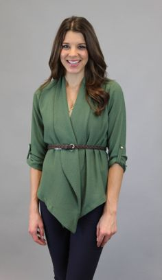 Run With It Jacket – Green #shopacutabove