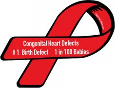 1 in 100 awareness ribbon