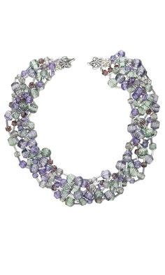 Jewelry Design - Multi-Strand Necklace with Czech Glass Beads - Fire Mountain Gems and Beads