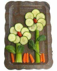 Gemüseblumen
