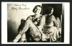 Style Vintage Circus Performers & Tattooed Ladies