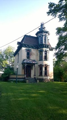 I've had my eye on this home quite a while!  It's in dire need of restoration!