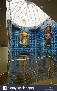 casa mila interior | Images are from this page on Barcelona and are ...