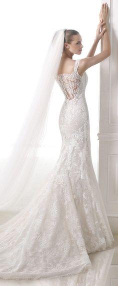 Sheath Wedding Dress : Atelier Pronovias Wedding Dress 2015