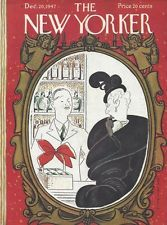 COVER ONLY ~ The New Yorker magazine ~ December 2 1947 ~ REA IRVIN ~Christmas in Books, Comics & Magazines, Magazines | eBay